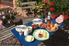 Ontbijt buiten